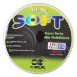 LINHA MARURI – MAX SOFT 0.26MM – VERDE LIMAO – 300M