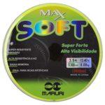 LINHA MARURI – MAX SOFT 0.30MM – VERDE LIMAO – 300M