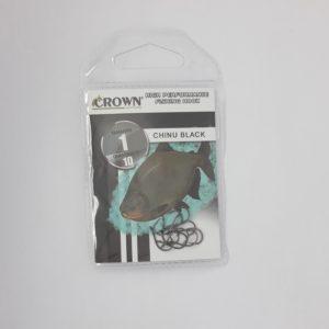 ANZOL CROWN CHINU BLACK 01 C10