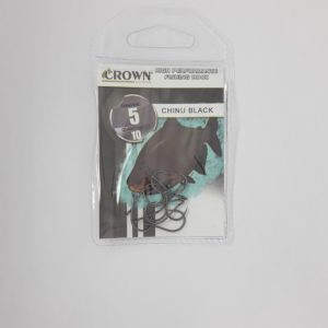 ANZOL CROWN CHINU BLACK 05 C10