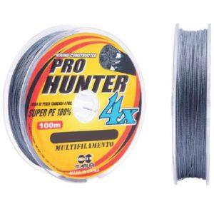 Linha Multifilameto 4 Fios Maruri Pro Hunter 4X – 0,23mm 35lbs 100m